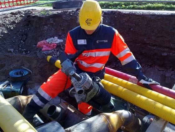 омплекс услуг врезки в трубопровод